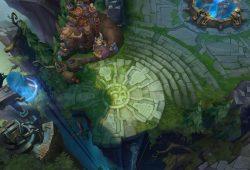 Mapa Summoner's Rift em LoL