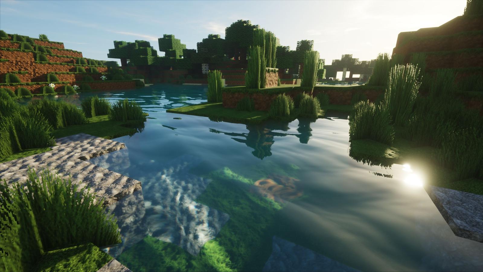 """Minecraft fica lindo com efeitos de """"Raytracing"""" nas luzes e"""